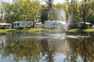 Mobile Home And RV Park Located On Beautiful Little Lake Harris In Astatula Florida Parking Directly The Shores Of