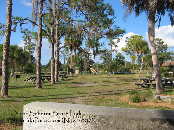 Oscar scherer state park is located on u s 41 six miles south of