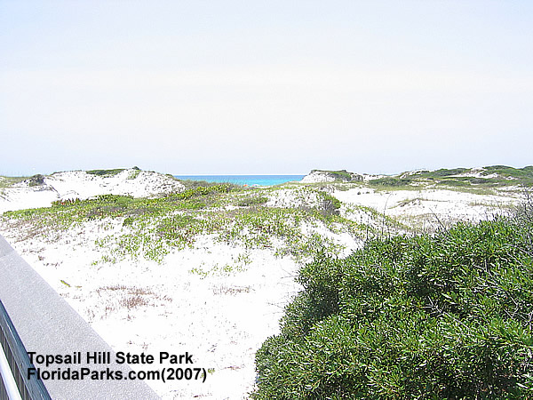 Topsail Hill State Park Beach Area Photo