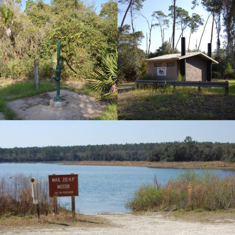 Holiday Acres Camping Resort: Buck Lake Group Campground-Florida Campgrounds, Florida RV