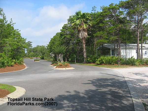 Topsail Hill State Park Cabin  Area Photo