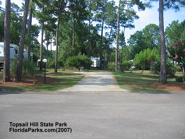 Topsail Hill State Park Campground Photos