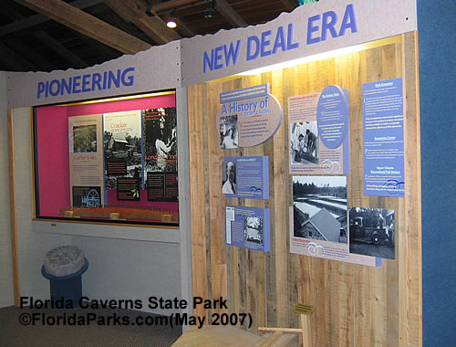 Florida Caverns State Park Exhibit Photos