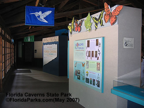 Florida Caverns State Park Exhibit Photo