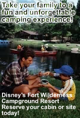 Disney's Fort Wilderness Campground and Resort Reservations