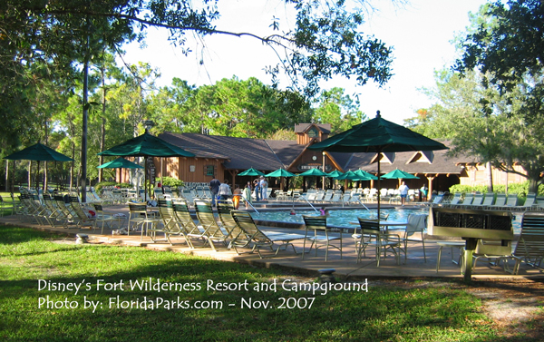 Disney 39 s fort wilderness resort campground florida for Fort wilderness cabins reservations