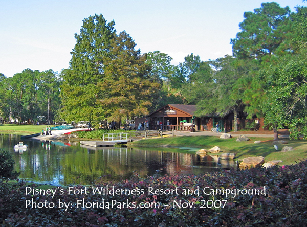 Disney 39 s fort wilderness campground for Disney cabins fort wilderness