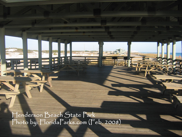 Henderson Beach State Park Campground Facility