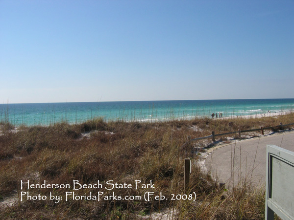 Henderson Beach State Park Beach Photo