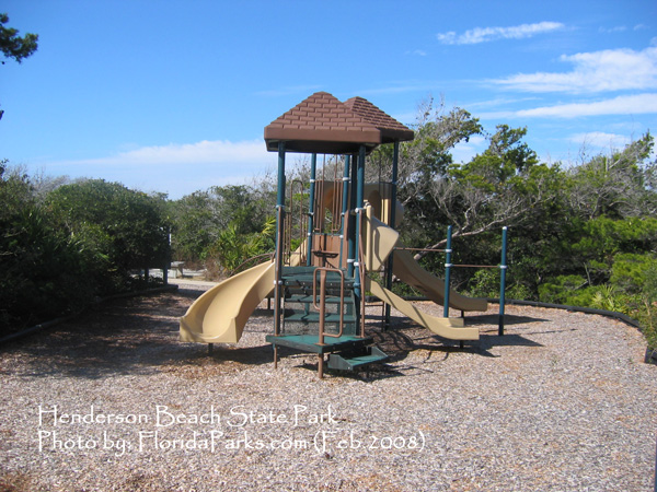 Henderson Beach State Park Playground Photo