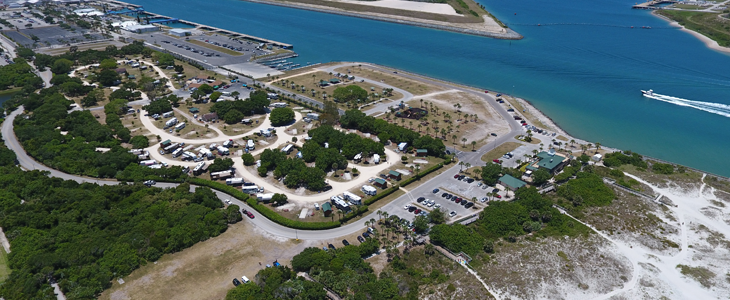 Jetty Park Campground Florida Campgrounds Florida Rv Parks