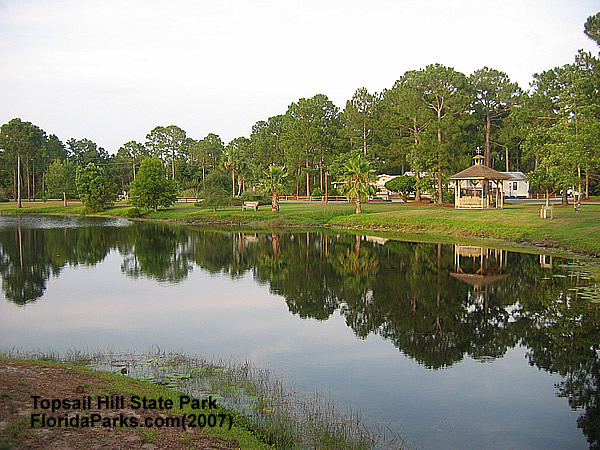 Topsail Hill State Park Lake Area Photo