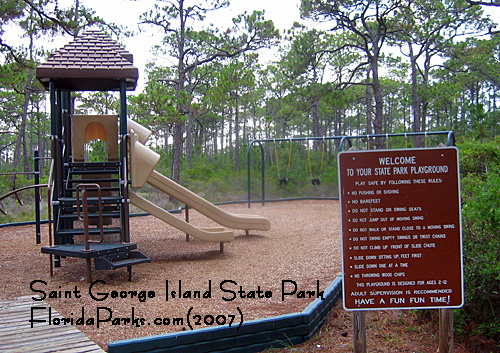 Saint George Island State Park Playground Photos