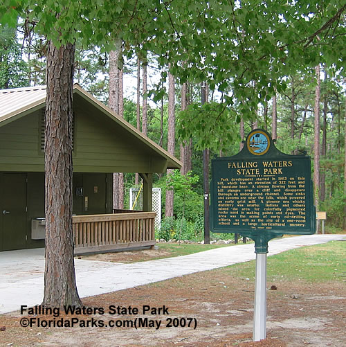 Falling Waters State Park Playground and Picnic Area