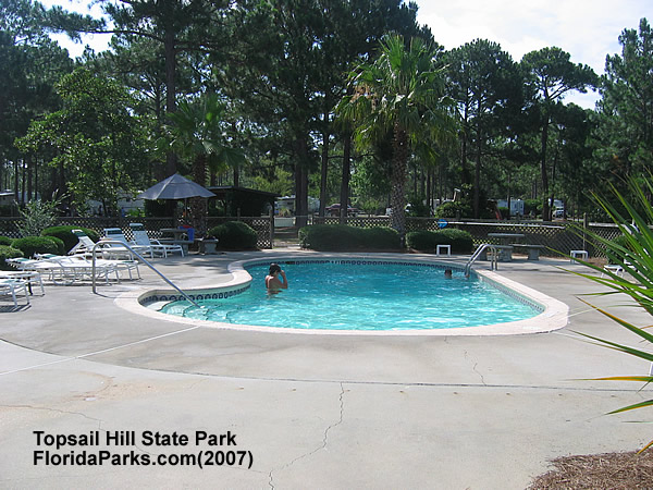 Topsail Hill State Park Pool Area Photo