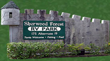 Sherwood Forest Rv Park Palm Harbor Flordia Florida