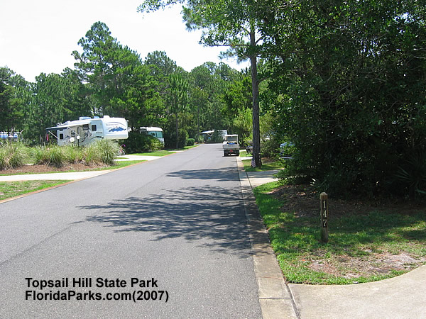 Topsail Hill State Park Camping Area Photo