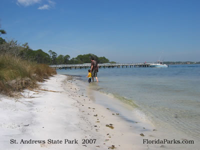 Saint Andrews State Park Panama city Beach, Florida