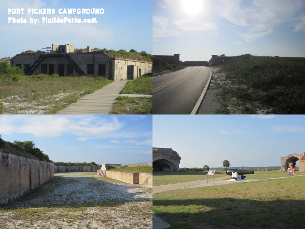 Fort Pickens Campground Florida Campgrounds Florida Rv