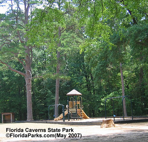 Florida Caverns State Park Picnic and Playground Photo