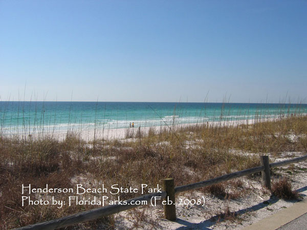 Henderson Beach State Park Beach Area Photo