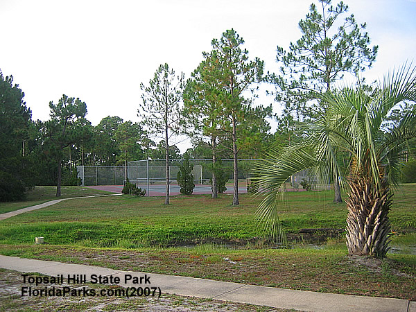 Topsail Hill State Park Tennis Court  Area Photo
